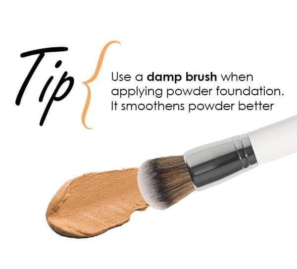 Because base makeup makes or breaks your look! #tips #tipsandtricks #tipsntricks #makeup #makeuptips #makeuptime #makeuptipsandtricks #foundation #foundationlove #foundationbrush #foundationroutine