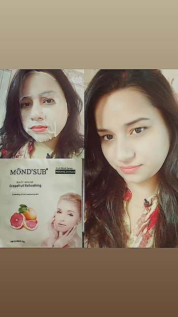 I will be pampering my skin with these facial masks, Thank you @mondsubindia for sending me their facial mask. This facial mask is very good for dry skin as it moisturising our skin so well with smoothness and brighten, glowing , refreshing your skin.  Buy any 5 at Rs 299 plus Rs 99 shipping  Also available on @mynykaa and @amazondotin #mondsubindia #beauty #stylish #stylelife#styleblogger #oceancoste #followforfollow#like4like #instagood#instagram#ootb#photography #swag #beauty #happy #delhiblogger#delhi #ropo-style #ropo-styles #roposobloggernetwork#roposofashionblogger