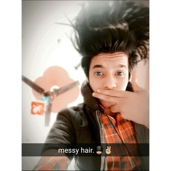 Messy hair don't care!💂💗✌ #emoboy #emolife #messyhair #selfie #lifeisgood #ilovemylife #hair #lovemyhair #swag #swagboy #filter #positive #blessed #peace