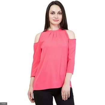 *-----------------* *Crepe Top!-*  Stylish crepe tops and tunics in pretty prints and solid colors.   Fabric - Crepe  Size - XS-33, S-35, M-37, L-39, XL-41 inches  Length - 23+ inches   *Note - Product color may slightly vary due to the specific monitor and the settings. *-----------------*  *Pricing for Crepe Top!*:   *Code**Price for you* Price for P13356-P13359: Rs.499 (Shipping Extra) For more details whatsapp-9643805684