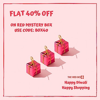 Could Diwali Presents get any better??🤩 We got box full of Surprises and fashion! Avail it at best price now ❇️  www.theredbox.co.in  . . . . . #theredbox #crazysexycool #spiceitup #redmysterybox #mysterybox #diwalipresents #loveandlight #giftfashion #fashionfrenzy #surprises #festivelove #festivities #shopping #diwalishopping #sale #bestprice #stealdeal #urbanchic #bestchoice #happiness #happydiwali #festival #india #london #newyorkcity #mumbai #newdelhi #specialbox #trendygift #happyshopping