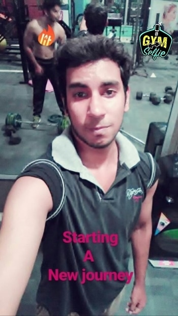 #staring#a#new#journey#gym#night#with#broth3rs#😃😃😃😇😇😇#support#with#love💃💃💃 #gymselfie