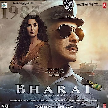 Presenting you the another look of #SalmanKhan & #KatrinaKaif Starrer #Bharat . . ..  #bollywoodactress #page3reporter #bollywood #starkid #styleicon #bollywoodupdates #bollywoodactor #actor #actress #hero #heroine #star #stylestar