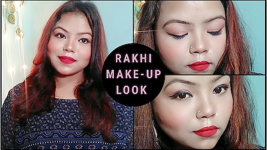 new video is out on my YouTube channel link in my bio so please watch it and please don't forget to subscribe my channel   #rakhiday #rakhispecial #rakshabandhan #rakhimakeup #rakhimakeuplook #rakhifestival #rakhshabandhanspecial #rakshabandhanmakeup #easy #redglam #ytcreatorsindia #ytcreator #yt #ytinda #gwalioryoutuber #ropo-beauty #beautybloggerindia #makeupinfluencer