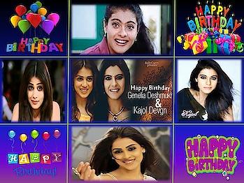 #kajolagarwal #kajoldevgan #geneliadsouza #birthdaygirl
