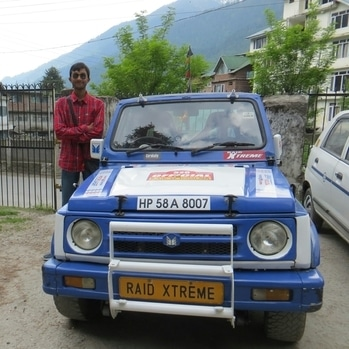 Raid De Himalaya with Maruti Suzuki Gypsy ❤ #MarutiSuzuki #AutoCross #MotorSport #RallyOfHimachal #4x4 #OffRoad #AllTerrain