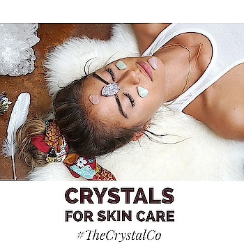 Now who doesn't like having great skin? Cleansing or detoxing is a vital part of any wellness process.When it comes to facial care, everyone's needs are different.Using crystals to cleanse is one option.Crystals improve your general state of being and reduce and even eliminate the symptoms of disease (often chronic symptoms). They also speed up changes in your life and facilitate lifestyle choices that promote wellness. ••• Order one of your own @tanveey  ••• Other crystals for Skin:👇 ▪Selenite is the ultimate cleansing and programming stone available. It is extremely useful with any healing treatment and especially is a great crystal for skin issues such as: wrinkles, age spots, acne, itchy dry skin, eczema, psoriasis, shingles and pressure sores. ▪Rose Quartz could be used to help fight aging. This is probably due to the fact that this crystal consists of properties that reduce tension in the skin and encourage cell reparation. ▪In terms of skin care, Jade is idyllic for smoothing wrinkles and tightening loose skin. This stone has always been predominantly used to cool and calm the irritation and inflammation. ▪AmethystCleanses the skin. You can try putting a cleansed piece in water that you would use on your face.This gemstone is best known for its cleansing and detoxifying effects. ▪ChrysopraseAids with detoxing and you can place one on your liver at night. You may also want to try using one underneath your pillow at night. ▪MoonstoneIs terrific for hormonal transitions.it calms the skin and fades post-flare-up spots ▪Clear QuartzA purification stone that clears the free radicals and dead cells in the skin, clear quartz is a gemstone for retaining the fountain of youth. Clear Quartz is the ultimate crystal for reversing aging. It improves theclarity of the skinby clearing blemishes and activation of Crown Chakra. #crystal #crystalhealing #skincare  #skin  #wrinkles  #purify  #gemstone #detox  #tanveeykapur  #instagram #cleansing  #facial  #care  #youth  #chakra 