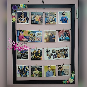 Photo Frame 😘   #photogram #gift #lovegifts #photowall #photoalbum #rops-star #rop-beauty #craft #handmade