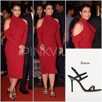 Yay or Nay : Kajol in Gauri and Nainika.Kajol at the launch of VIP 2 Trailer.....