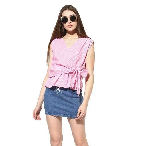 Trendy Pink Cotton Top  Color : Pink Fabric : Cotton Type : Stitched  Length: 28 inch Pattern: Striped Size : M - Waist 30, Bust 34, Hip 36 inch  L - Waist 32, Bust 36, Hip 38 inch  Delivery : 6 - 8 business days Free and easy exchange/return up to 24 hours after getting delivery if any issue  Free delivery - cash on delivery also available (All over India) For out of India delivery, just ping us.  Order now to get Surprise Discount..! . Contact on WhatsApp: +91 93751 77927  Follow on :  instagram.com/ModeltyFashion facebook.com/ModeltyFashionStore  #womenswear #workwear #womensstyle #shopaholic #indianstyle #officewear #top #tops #trendytop #ss18 #womenstop #cottontop #westernwear #partywear #clothes #apparel #clothingbrand #celebrityfashion #fashionaddicted #shopnow #brandedclothes #fashionblogger #indianfashion #ahmedabad #celebritystyle #celebritylook #onlineshop  #fashion #MODELTYFASHION