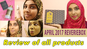 April 2017 ReverieBox Review of all products  watch the video here https://youtu.be/APbrqejP3dA  My latest video covers the review of all products I received in the April @reveriebox 📦 . . Watch this video to know my thoughts about the luxury skin care products from @vanavidhi @tvakh and #varshavan that I received this month. . #review #myreverieworld #reveriebox #crueltyfree #subscriptionbox #indianyoutuber #newvideo #skincare