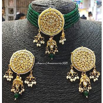 Chokers 💓  For bookings  Whatsapp :- 7503577614 Call :- 9250236640  #indianwedding #weddingglam #weddingjewels #luxury #style #motivation #dubai #delhi #beauty #happiness #indianstreetfashion #fashionbeauty #choodalovers #punjab #destinationwedding  #photographers #lehenga #designerwear #canada #royal #jewels #jewellery #art #heritage #handpainted #_jaipuri_jewels