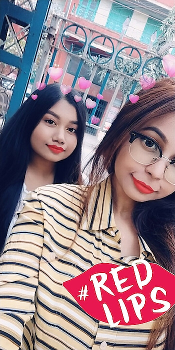 Red lips babes ❤ #roposo #redlips #ropo-good #ropo-good #ropo-beauty #ropo-style #ropo-post #ropo-girl #ropo-fashion #ropo-daily #ropo-makeup #makeup #makeupchallenge #be-in-trend #roposo-thebeautitude #roposoers #roposo-journey #redlipsticklove #redlipsdontcare #baes #kolkatablogger #redlips