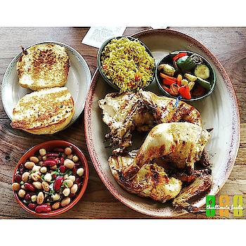 My Valentine's was all about this lip smacking meal ! . . . . 🍴 What : Whole Chicken Platter with Four Starters (Sauteed Veggies, Garlic Bread, Three Beans Salad and Spiced Rice)  Where : Nandos, Promenade Mall, New Delhi 🍽️ . . . @nandosdelhi @nandos.ind @nandosuk @nandosindia #nandos #chicken #chickenlover . . . . . . . . . READ FULL REVIEW @ZOMATO - Medhavi - theultimate_foodie . . ➡ Like my FB Page - theultimate_foodie . . 🔹🔹🔹🔹🔹🔹🔹🔹🔹🔹🔹🔹 Follow me @theultimate_foodie  Follow me @theultimate_foodie  Follow me @theultimate_foodie  Follow me @theultimate_foodie  Follow me @theultimate_foodie  Follow me @theultimate_foodie 🔹🔹🔹🔹🔹🔹🔹🔹🔹🔹🔹🔹 . .  #foodbloggers #foodgasm  #foodiesofig #foodiesofinstagram #foodporn #foodshot #foodpics #foodie  #sinful  #foodlove #foodiegram #foodlover #tasty #foodporn #soulfood  #instafood  #shotononeplus #shotononeplus5 #oneplus5tphotography #food52grams #delhifoodguide #onthetable #foodoftheday #foodtalkindia #eeeeeats . . . . @oneplus_india @oneplus @oneplus_5t @oneplus.photography @oneplus_in . @hbhanot70 @zingyzest @delhi_eats @dfordelhi @beautifulfoodie @karanfoodfanatic @sodelhi @thefoodattacker @sukhmanisakhi @tastethisnext @foodie @hungrydilliwali @imdatingfood @dilsefoodie @foodtalkindia @grubspot @nomnom24x7 @whaaatislife