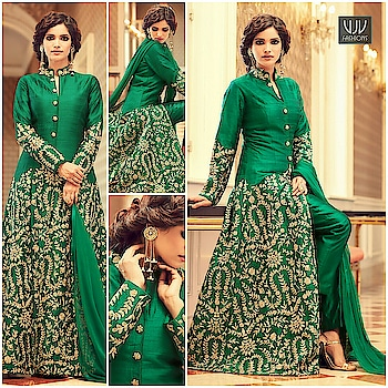 Buy Now @ https://goo.gl/bbRnyC  Lovely Green Color Tafeta Silk Classic Designer Suit  Fabric- Silk  Product No 👉 VJV-MOHI43003  @ www.vjvfashions.com  #dress #dresses #bollywoodfashion #celebrity #fashions #fashion #indianwedding #wedding #salwarsuit #salwarkameez #indian #ethnics #clothes #clothing #india #bride #beautiful #shopping #onlineshop #trends #cultures #bollywood #anarkali #anarkalisuit #beauty #shopaholic #instagood #pretty #vjvfashions