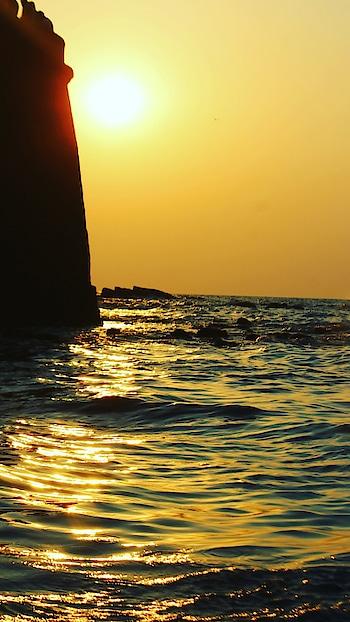 #sunset #sinquerim #beach #goa
