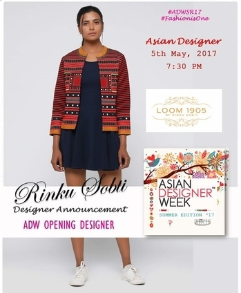 "Asian Designer Week Opening #Designer  Rinku Sobti | Rinku Sobti Fashion Pvt Ltd 7:30 PM Show | 5th May 2017 | Talkatora Stadium, New Delhi Collection #Handloom Ikat, a distinct style and unparalleled beauty along with the pure cotton weaves of Mangalagiri makes this collection aesthetically beautiful in look and feel both. Blurriness and the complicated patterns of Ikat and the simplicity of Mangalagiri fabric gives way to clean and a comfortable look. ""Under the India Handloom Brand we have created an entire collection devoted to the Pochampalli Park. It comprises of strong clean, lines on tunics, skirts, jumpsuits, jackets and gowns."" #fashion #media #adw2017 WION Roposoo TOCH  Naina Shyam Arora Label.m UK The KABIR  RSVP The Nightclub MUSE- A Designer's Commune Mod'art International Delhi"