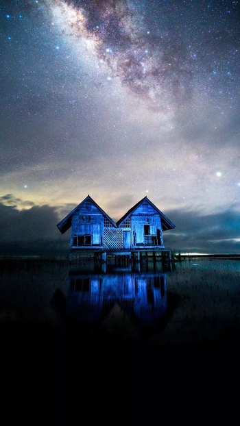 #dream #blue #home #house #dreamy #dreambig #look #beautiful #illusion