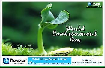 """""""A nation that destroys its soils destroys itself. Forests are the lungs of our land, purifying the air and giving fresh strength to our people.""""  - Franklin D Roosevelt   """"Team Reveur Wishing You All World Environment Day """"   www.reveurentertainments.com   #Reveur #ReveurEntertainments #ReveurCasting #ReveurCelebrityManagement #RakeshHankareOfficial #WorldEnvironmentDay #WorldEnvironmentDay2019"""