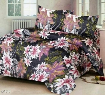 Fresh Flower Themed Cotton Bedsheets To Decorate Your Home! Decorate Your Abode! Welcome Summers in Style!