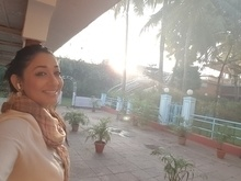 Early morning rising with the sun..receiving light warmth n energy..ready to shoot 😊