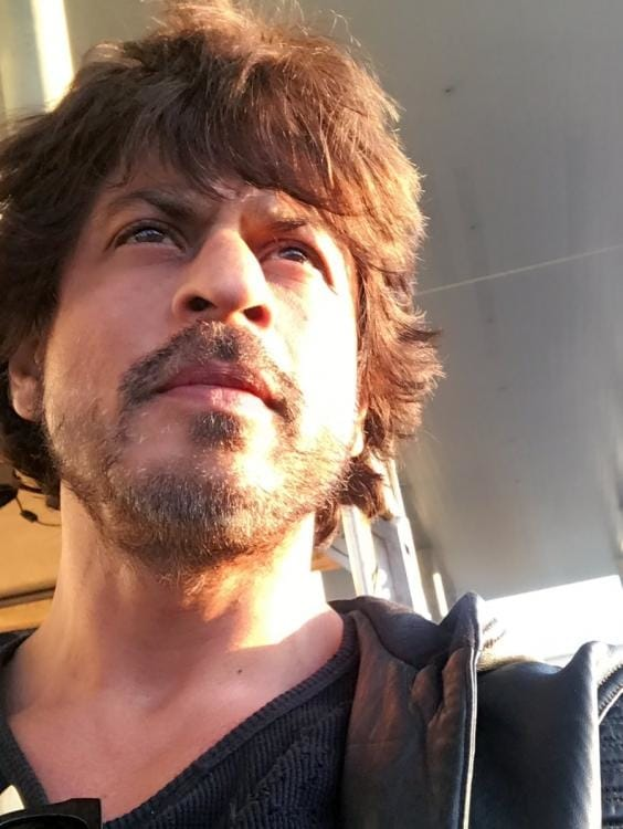 It's all about the journey for Shah Rukh Khan in this photo. Shah Rukh Khan is in a pensive mood as he shares a selfie of himself on Twitter.