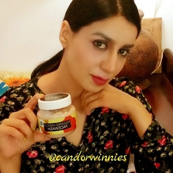 Product Review: Winnie's Candor Powdered Hibiscus Facewash.🌺 Hey Friends,☺ You all know that we share a common love for caring for our skin and have grown to love the effect of organic and completely chemical free products.👌 Just recently, I took the opportunity to try out a new product called Powdered Hibiscus Facewash from @candorwinnies . After experiencing the wonderful effects for myself, I now would like to let you all know about it.💚 On opening, I found that this powdered facewash has a slightly pleasant, neutral & nutty aroma and I tried it in the morning after I received it. While preparing it for use, I found the aroma pretty tempting & mouthwatering too. It did not take more than 2-3 minutes to prepare, apply & rinse-off the product. Quick to mix, smooth enough in texture, gently exfoliating, a single use made my skin feel energized, soft, light & clean. 🔶🔶🔶🔶🔶🔶🔶🔶🔶🔶🔶🔶 Featuring amazing properties to detoxify, exfoliate, purify, soften & moisturize the skin, I observed a radiant glowing complexion after every use and I've been using this product ever since I've received it. ➖➖➖➖➖➖➖➖➖➖➖➖ I would definitely recommend this Powdered Hibiscus FACEWASH from Winnie's Candor without any hesitation. Visit my blog for video & post- Link in bio🍃 Great Product, Two Thumbs Up! #skincare  #review  #beauty  #facewash  #hibiscus  #natural #organic  #thebest  #loveit  #thebest #powder  #glow  #antiaging  #antioxidant  #ropososkin  #exfoliate  #indianblogger  #handcrafted  #cleanse  #acne  #loveyourself #love  #skincareblogger  #lookyourbest  #like4like #roposoreview  #wordpressblogger  #detoxify  #softskin  🌿☺