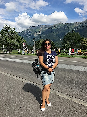 Throwback last year to Interlaken, Switzerland!  Lovely place and a must visit! #throwbackpic #interlaken #switzerland #traveldiaries #roposotravel #roposotraveller #europetrip #europe #vacation #thistimelastyear #roposo-style #interlakenswitzerland