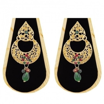 Earrings transforms every occasion into a special one!  Buy these splendid goes-with-every-outfit earrings from The Luxor.  Variety of designs available.  COD Available|Free Shipping| Easy Returns  #WedLista #FashionForWeddings