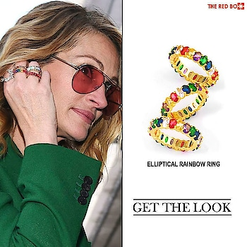 Get Ready to Sass up the Evening with our Elliptical Rainbow Ring à la Julia Roberts! 🤩 🔥 https://www.theredbox.co.in/en/product-category/jewellery/rings/?v=c86ee0d9d7ed . . . . . #theredbox #crazysexycool #spiceitup #juliaroberts #prettywoman #rings #rainbowring #sassy #hairgoals #hairstyle #trendy #tbt #lookoftheday #inmycloset #ringstack #showmeyourrings #urbanstyle #outfitgoals #instaootd #celebstyle #celebritystyle #getthelook #ringaddict #bloggerstyle #makeupoftehday #glam #makeuplooks #skincare #follow #likeforlike