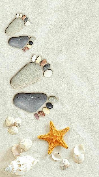 #beachvibes #footprintsinthesand #Gudmrng