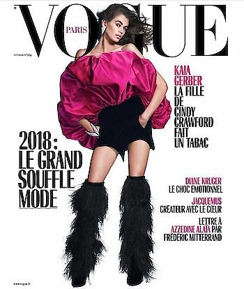 #Kaiagerber on the cover of #vogueparis #international  #kaiagerber