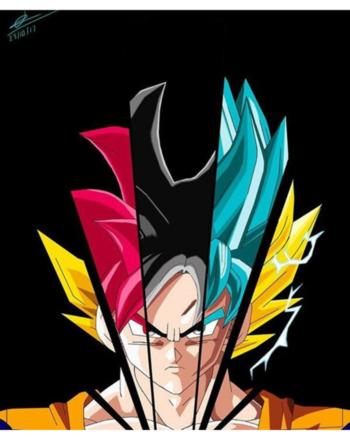 #dragon #ball #super #dbz #goku #super #saiyan #ultra #instincts