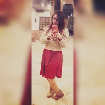 vacation mode on! #dress-up #dressupdaily #reddresslove #mirrorselfie  #shrugswag #nightout #bootsandwinteraffair #lovemylife  #travel
