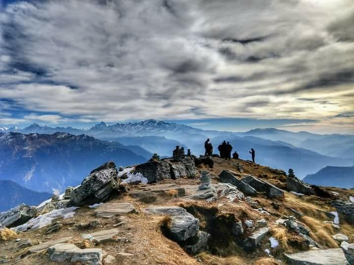 Chandrashila Peak #tungnath #uttarakhand #chopta