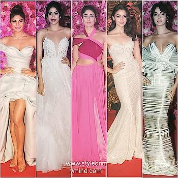 💜 STYLE ON MY MIND 💜  Gown squad. 🤩🤩🤩.pl visit www.styleonmymind.com  . #gown #couturegown #formalgown #redcarpetlook #celebritylook #celebritystyle #bollywooddivas #bollywoodfahsion #fashion#ropo-fashion #be-fashionable #fashion-addict #styles #new-style #stylishwear #stylebloggerindia #style-file #glamourworld #glamour #glamourouslooks #glamourandstyle #trendsetter #trend-alert #be-in-trend #roposofashionbloggernetwork #roposomakeupandfashiondiaries