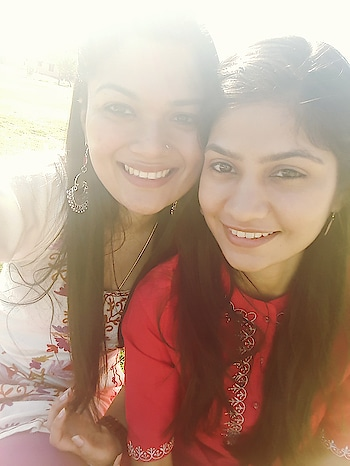 Ethnic day ❤ #indian #kurti #pahadi #ethnicwear #earrrings #love #niftjodhpur #lovemylife #roommates #collegefashion #sunkissed #my ❤ #alwaysbeautiful #constant