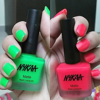 Your Nails are a way to speak your Style.. Without having to Say a Word 😉 .. . . . . . . . . . . . . . . . . . . . . . . . . . . . .  #mattenails #mattenailspolish  #mattenailpolish #nails #nailsofinstagram #greennailpolish #matterednails #greennails  #beautyinfluencer  #instamonday #florescentnails #rednails #rednailpolish #mattegreennails  #indianbeautyblog  #indianblogger #nailenamel #nailpolishlove  #nailsofinstagram #nails💅 #nailswag #nailfie #nykaanailsmatte #nykaanails #insta #instapic #instatuesday #instanails #instanail #instanailstyle