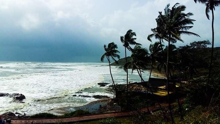 Anjuna Beach, Goa.    #beach #sun #nature #water #TagsForLikes #India #ocean #lake #traveldiaries #photooftheday #travelbug #travelblogger #beautiful #sky #clouds #cloudporn #fun #pretty #sand #reflection #amazing #beauty #beautiful #shore #waterfoam #seashore #waves #wave