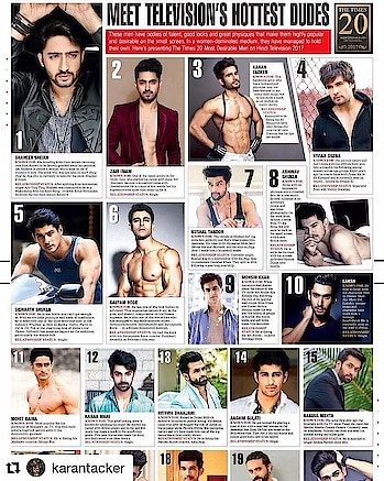 #Repost @karantacker (@get_repost) ・・・ Here's presenting the Best of the Best.. Congratulations boys, we make the fraternity look good! And Bombay times, you are too kind! ————————————————— @shaheernsheikh @zainimam_official @viviandsena #sidharthshukla @rodegautam @therealkushaltandon @ashukla09 #mohsinkhan #laksh @merainna @imkaranwahi @rithvik_d @aashimgulati @nakuulmehta @harshad_chopda @ravidubey2312 @arjunbijlani #ashishsharma @priyanksharmaaa @bombaytimes #fashion #fashionblog #fashionblogger #styleblogger #stylist #stylechallenge #fashionlifestyle #styleblogger  #fashionblogger #fashionchallenge #indiastyle #fashions #fashiondiaries #Aboutlastsunday #lovemyjob #delhidiaries #delhistyleblog #delhistylist #follows #followtrain #followforfollow