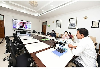 executive principles on infrastructure by telangana state----KTR