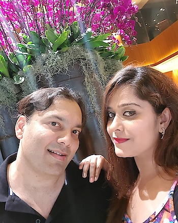 Happy Valentine's Day To My Handsome Hero - My Best Friend - My Boyfriend - My Hubby - In Short - My Love - My Man... I Love You Always & Forever 😘💋😊❤🤗💞🍾🥂⚘ @sunil.moorjani @grandhyatt @grandhyattsing (Part 1)  Wishing you all a very happy valentine's day... #happyvalentinesday #14thfeb2018 #love #sukh #swipe #part1 #km #ksm #kmspeaks #khushism #khushismoorjani #valentino #valentinesday #2018 #myvalentine #instalove #insta #instagram #followme #celebration #grandhyatt #singapore #iloveyou #happiness 🦋