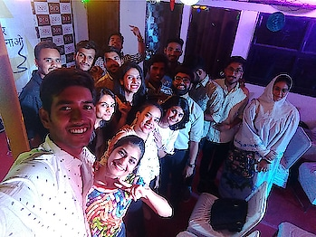 """""""Aur Sunao"""" event was really amazing yesterday ❤️ #openmic #event #confidence #groom #wow #celebrationtimes #celebrations #poem #song #shayari #anything #everything"""