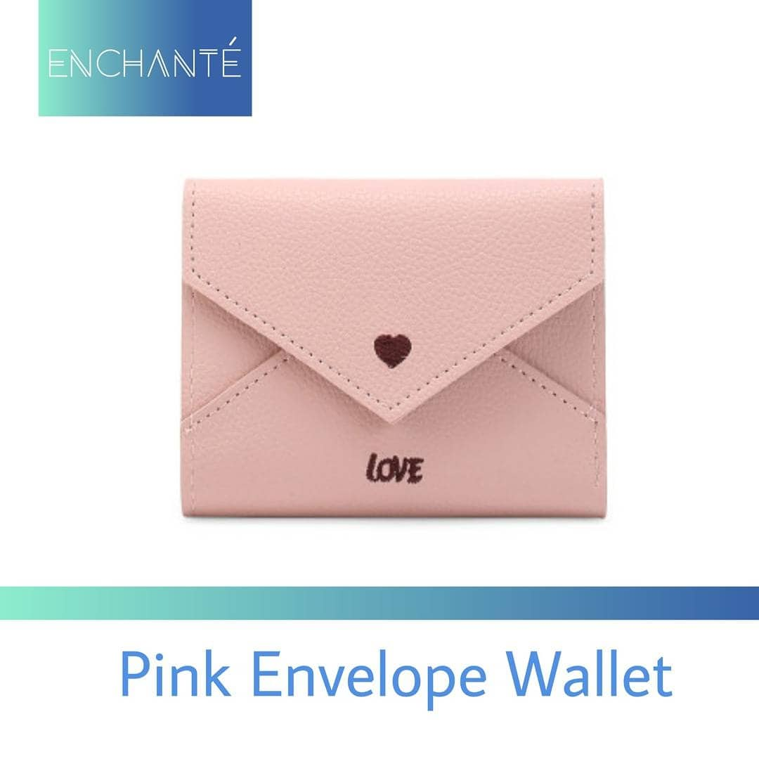 Keep up with the trend with this Pink Envelope Wallet from Enchanté .DM us to order . #pink #envelope #wallet #clutch  #wallets #handbag #bags #baglover #girly #bagfetish #handaccessory #accessoryaddict #accessorie #accesorize #giftideas #giftshop #valentinespecial❤️ #valentineoffer #trendy #fashions #fashionable #enchanté #enchante #theshop #shoppinggoals