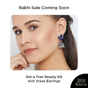 Celebrate this #rakhi with @zerokaata  Get free #beautykit with ever purchase of Rs 499 and above  #zerokaata #tribalbyzerokaata #rakhigifts #rakhigiftsforsister #giftsforrakhi #rakshabandhanspecial #rakshabandhan #rakhi2019 #rakhigiftforsister #rakhigiftstosister #rakhigiftsforsisterunder500 #rakshabandhangifts #festivaljewelry #festivaljewellery #festivecollection #festiveseason #festivalfashion #festivevibes #giftsforwomen #giftsforgirls #giftsforyou #giftsforeveryoneonyourlist