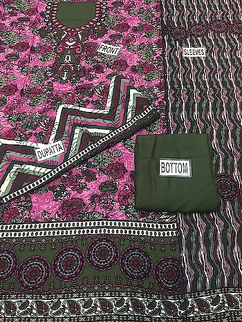 *🌹Original Paki Printed #Arbi #Lawn*  💖Awesome Designs and Bright Colours Combination💖  👉Printed Front / Back / Sleeves   👉Printed Dupatta with Jhalar Latkan Dori  👉Plain Bottom  *Best Price 1150/-*  Whatsspp onn+918879845751. +919029093762.