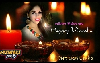 Edieter Wishes All my #fans #followers #roposolive #happydiwalieveryone   Play have safe Diwali & enjoy with #familytime #friendsforlife ..  Fitness Expert & Dietician #diwaliparty