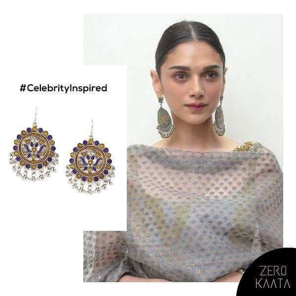 @aditiraohyadri (insta) @Aditi Rao Hyadri (fb) looks like a royalty in understated chandbalis for an earthy glow.   Shop our Sailing Boats nomad chandbalis in silver to steal the look.   Shop Here : https://goo.gl/F1ma6j  #jewelrygram #jewels #design #jewelryaddict #necklace #trendy #gems #stone #ootd #gold #accessories #golden #crystal #blingbling #jewelry #style #prilaga #gemstones #jewelery #crystals #beautiful #jewellery #fashionjewelry #stones