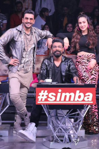 #simmba #promotions #danceplus4 #starplus #realityshow #today #filmistaanchannel