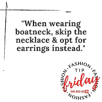 TGIF and we are here with a Fashion Advise for you! 💯 . . . . . #theredbox #tgif #fridayfashion #fashiontips #styling #earrings #accessorize #lockdownlife #stylegram #fashiontipfriday